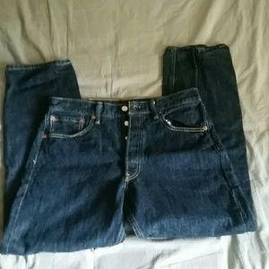 "Levi's 501 XX Dark Blue Jeans - 32""x30"" -1990s EUC"